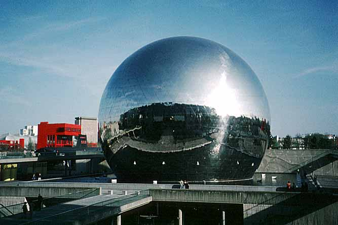 Paris cité des sciences et de l industrie géode