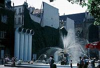 Paris photos - Beaubourg - Fountain