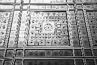 Paris black and white photos - Institut du Monde Arabe - Window