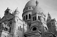 Paris black and white photos - Montmartre - Sacr� Coeur