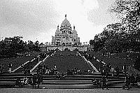 Paris black and white photos - Montmartre - Cemetary