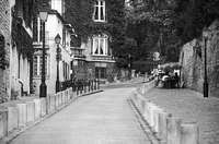 Paris black and white photos - Montmartre - Street