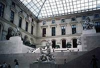 Paris photos - Louvre - Inner Courtyard