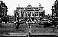 Paris black and white photos - Op�ra Garnier