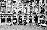 Paris black and white photos - Place Vend�me