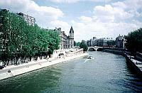 Paris photos - �le de la Cit� and the Seine